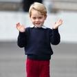 Princ George med fotografiranjem prekršil kraljevo pravilo