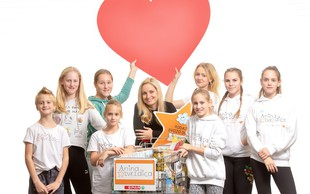 Anina zvezdica in Spar Slovenija za lepše praznike družin v stiski