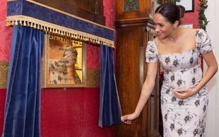 Meghan Markle pokazala ljubek nosečniški trebušček