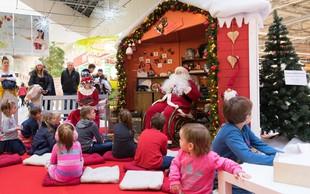 Jutri bo obiskovalce Cityparka razveselil Božiček