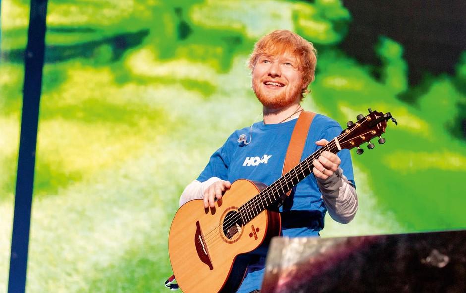 Ed Sheeran je svoji ženi poklonil nenavadno in drago darilo! (foto: Profimedia)