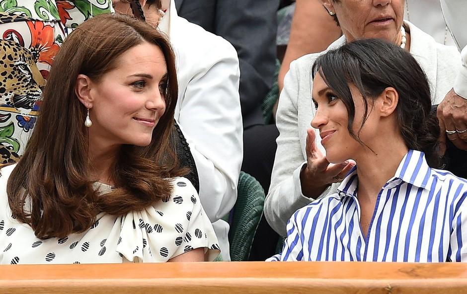 Vojvodinji Meghan in Kate imata za praznike veliko obveznosti (foto: Profimedia)