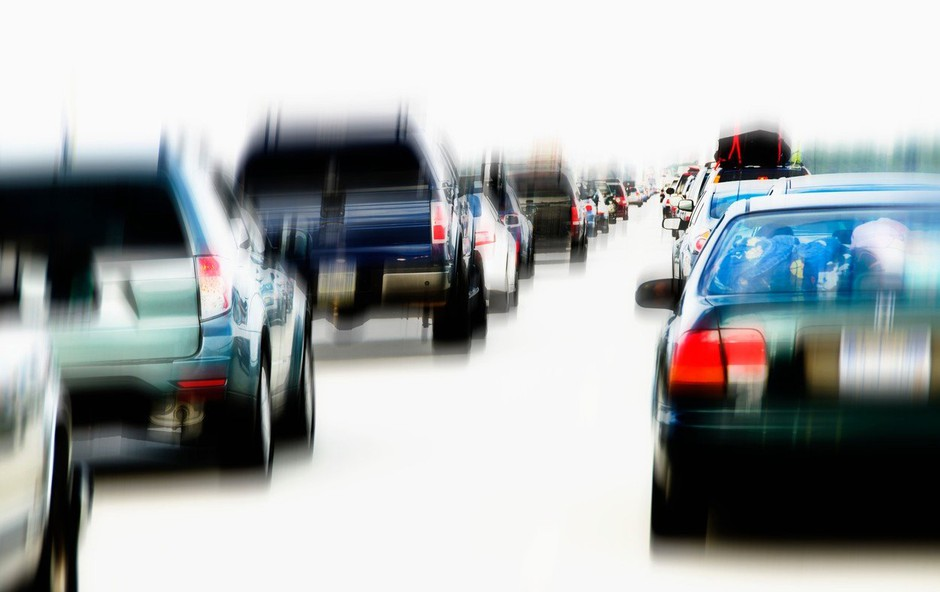 Cestni zastoji zagrenili začetek šolskih počitnic (foto: Profimedia)