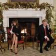 Donald Trump na božični večer vprašal otroka, če res verjame v božička