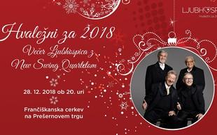 Ob koncu leta hiša LJubohospica pripravlja dobrodelni dogodek z New Swing Quartetom