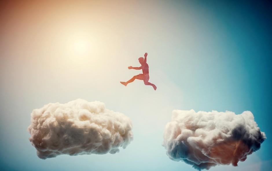 Vaše misli nimajo moči nad vami, če se nanje ne osredotočate! (foto: SHUTTERSTOCK)