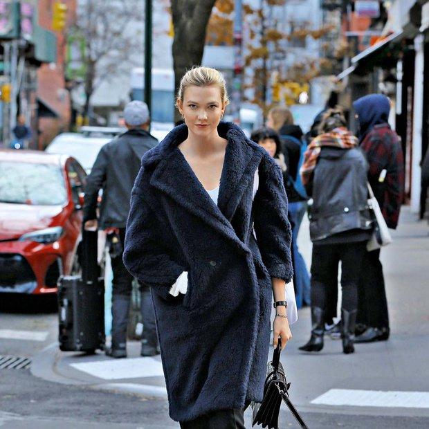 Karlie Kloss (Fotogalerija): Toplo krzno