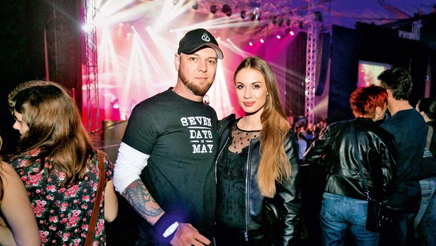 Eden najlepših medijskih parov Tara Zupančič in Tomi Meglič sta zaključila triletno ljubezensko razmerje (foto: Anže Krže)