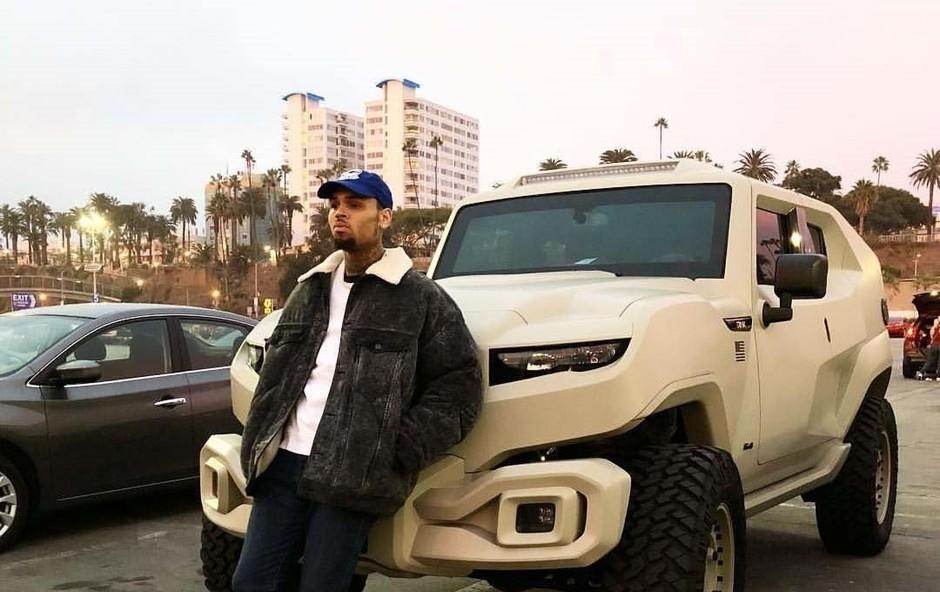 Raperja Chrisa Browna so v Parizu aretirali zaradi domnevnega posilstva! (foto: Profimedia)