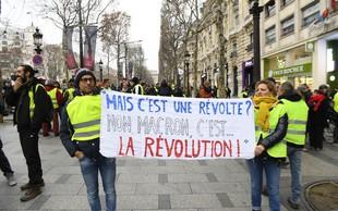 V Franciji na ulicah znova protesti