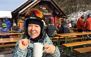 Priljubljena glasbenica Regina obožuje sneg in rada smuča!