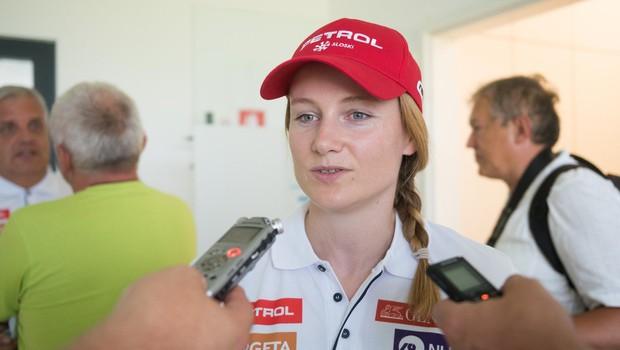Ana Drev si je poškodovala desno koleno, v sredo pod nož (foto: profimedia)