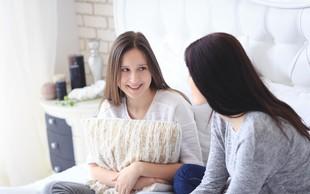 Najstniki in spolnost: V puberteti ohranimo rahločutnost do otroka