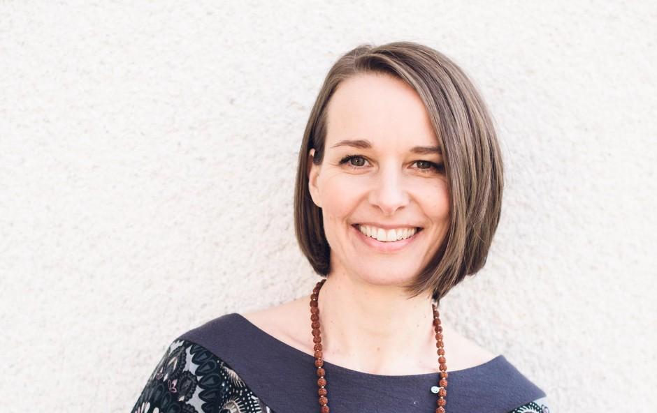 Tina Hrast je avtorica knjige Moj porod, moja izbira (foto: EVING)