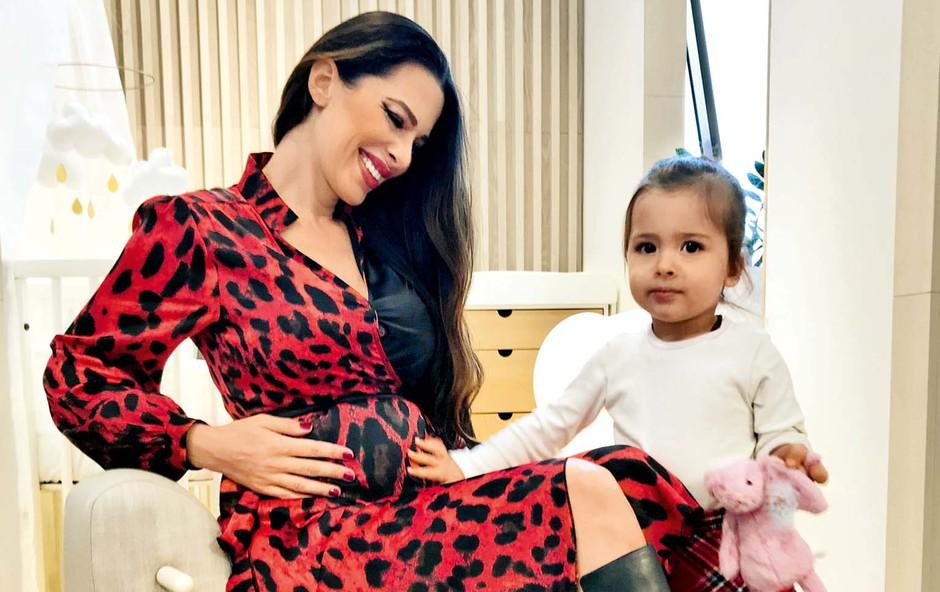 Iris Mulej odšteva do poroda, a še ne ve otrokovega spola (foto: osebni arhiv)