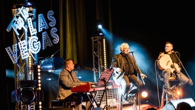 Trije vrhunski vokalisti napolnili koncert ob Elvisovem rojstnem dnevu (foto: Damjan Končar)