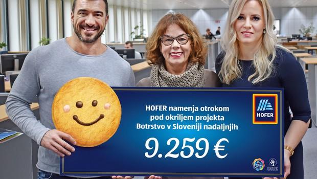 Z Nasmeškotki za Botrstvo zbrali več kot 9.000 evrov (foto: Botrstvo Press)