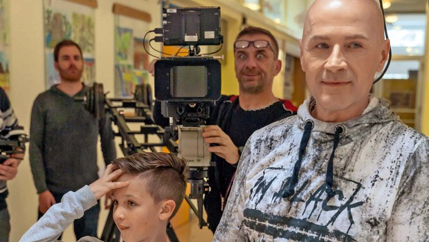 Miran Rudan je izpostavil svoja sinova (foto: Dejan Leva Bukovnik)