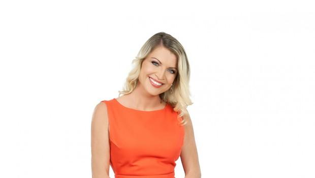 Irena Shyama Hlebš (športna novinarka na TV Slovenija) od nekdaj spremlja šport (foto: Žiga Culiberg)
