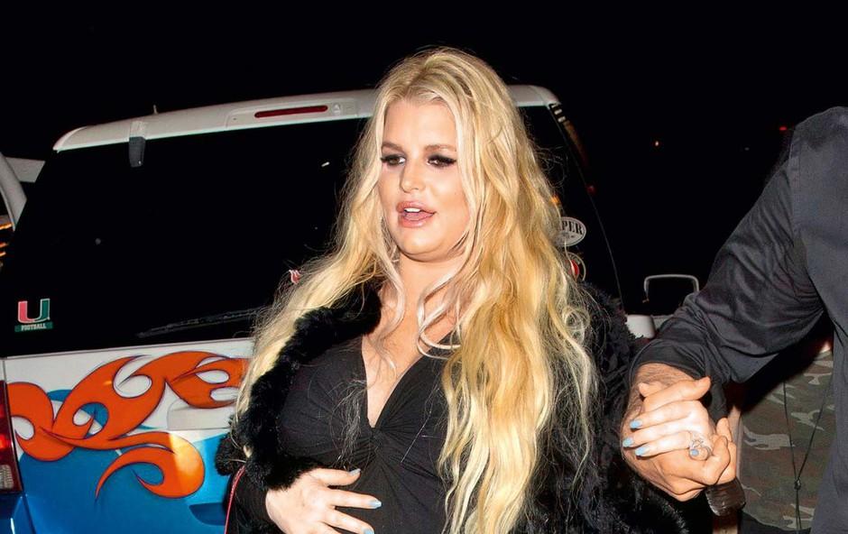 Jessica Simpson se je zaradi nosečnosti zredila 40 kilogramov (foto: Profimedia)