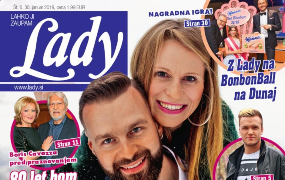 Jasmina Šmarčan (MJAV) in Samo Kališnik (Kvatropirci): Ljubosumje je zdravo za zvezo (foto: Lady)
