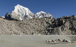 Zaradi podnebnih sprememb se lahko stalijo ledeniki v Himalaji
