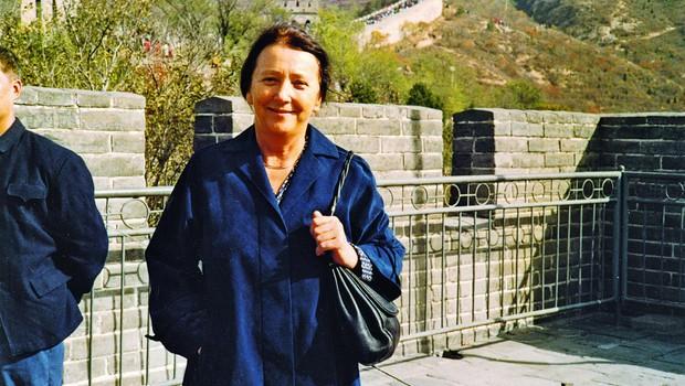 Pred vhodom na Kitajski zid. (foto: OA)