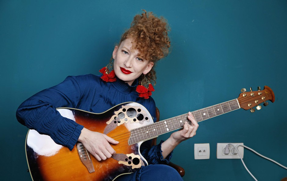 """Marina Martensson (pevka): """"Glasba je zdravilo, tudi ko si vesel"""" (foto: ALEKSANDRA SAšA PRELESNIK)"""