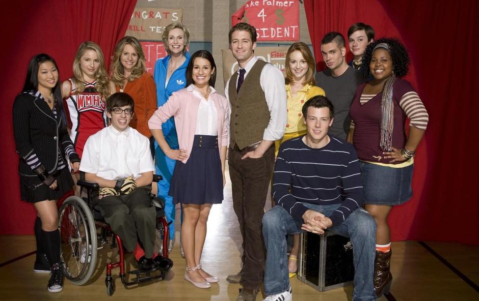Cory Monteith je pri 31 letih  v Gleeju igral 19-letnika. (foto: PROFIMEDIA)