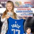 Licitacija podpisanega dresa košarkaša Luke Dončića za otroke z redkimi boleznimi