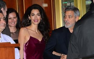 Amal in George Clooney prvič po govoricah o ločitvi skupaj v javnosti