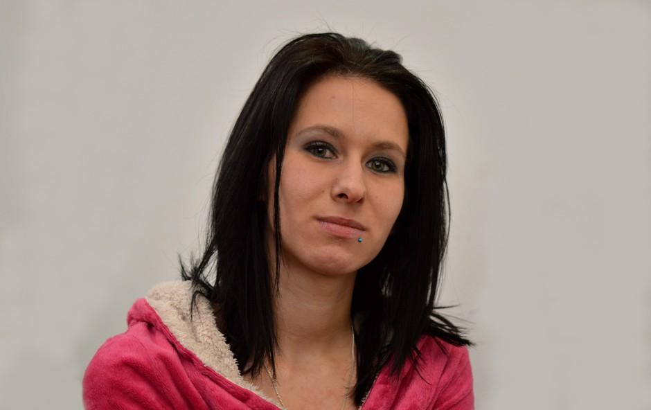 Tamara Korošec (Ljubezen po domače) je dokazala, da ima veliko srce. (foto: Aleš Rod)