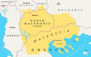 Na makedonski meji začenjajo s postavljanjem tabel Severna Makedonija