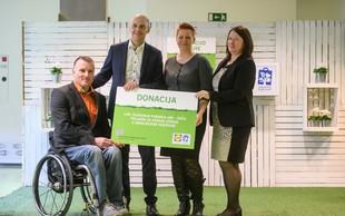 Otroci na rehabilitaciji dobili nov poligon za učenje vožnje z invalidskimi vozički