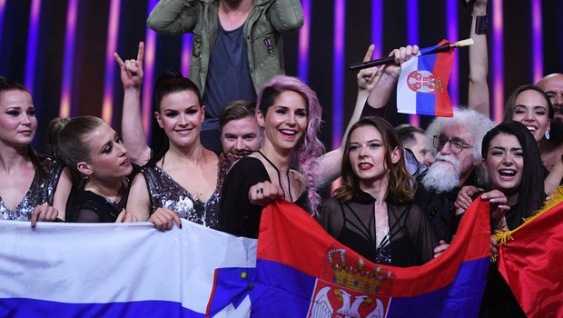 Občinstvo je odločilo, da bosta v Tel Avivu nastopila Zala Kralj in Gašper Šantl (foto: profimedia)