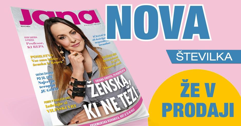 Oriana Girotto, TV voditeljica: Ženska, ki ne teži (foto: Nova)