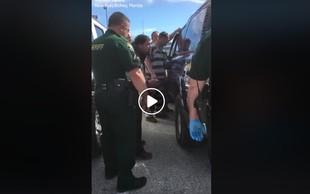 Kaznjenec pomagal staršem in vlomil v njun avto, da bi iz njega rešil malčico!
