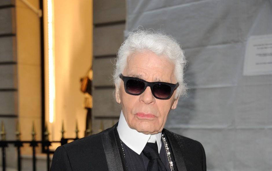 Umrl je legendarni modni oblikovalec Karl Lagerfeld (foto: Profimedia)