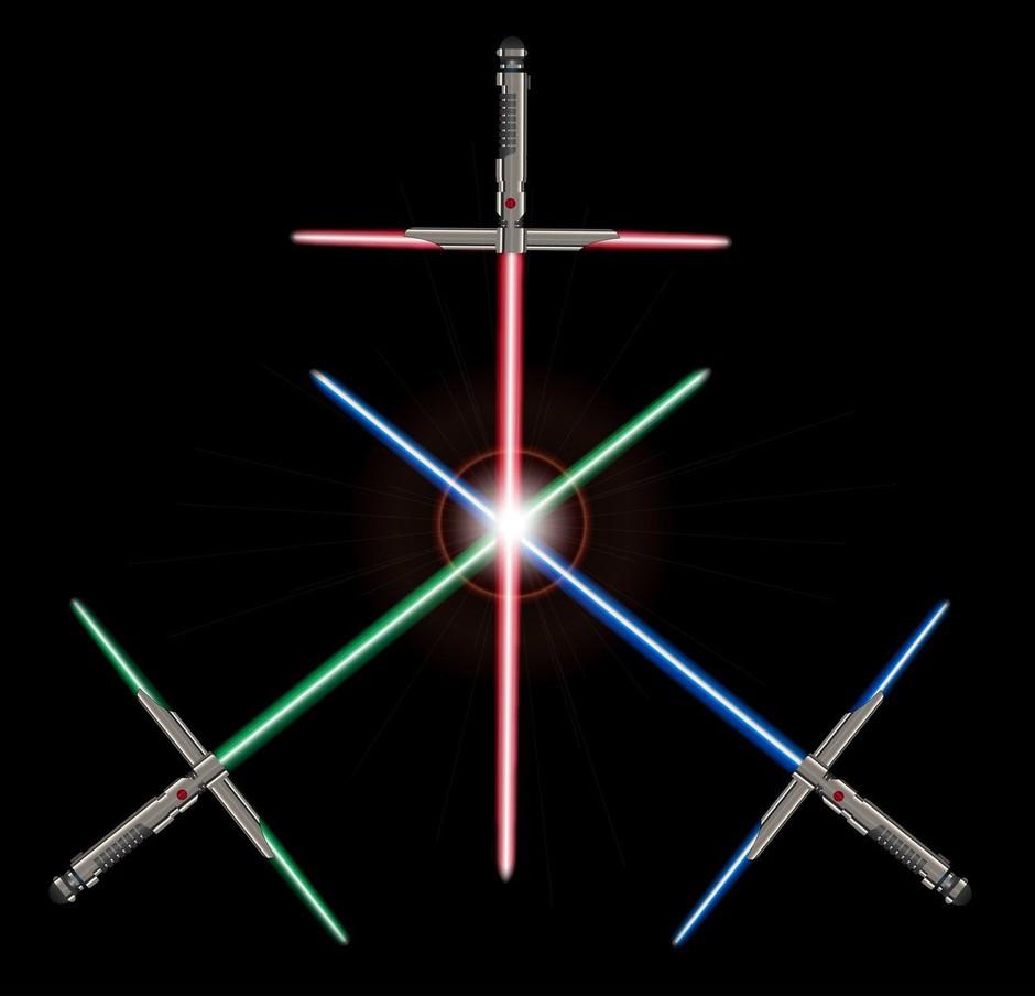 V Franciji je sabljanje s svetlobnimi meči uradno postalo šport (foto: profimedia)