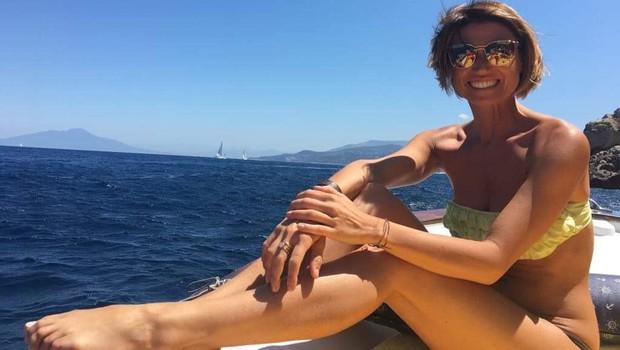 Plesalka Nina Gerič se je zaljubila v otok Capri. (foto: OSEBNI ARHIV)