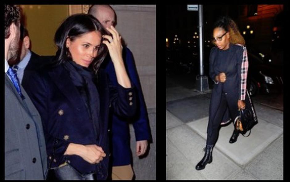 Meghan Markle se je v New Yorku družila tudi s Sereno Williams (foto: Profimedia)