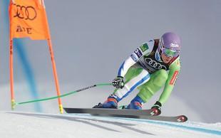 Ilka Štuhec v Crans Montani nesrečno končala sezono s poškodbami obeh kolen