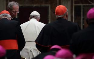 """Papež o duhovnikih, ki prežijo na otroke: """"Takšni so orodje hudiča!"""""""