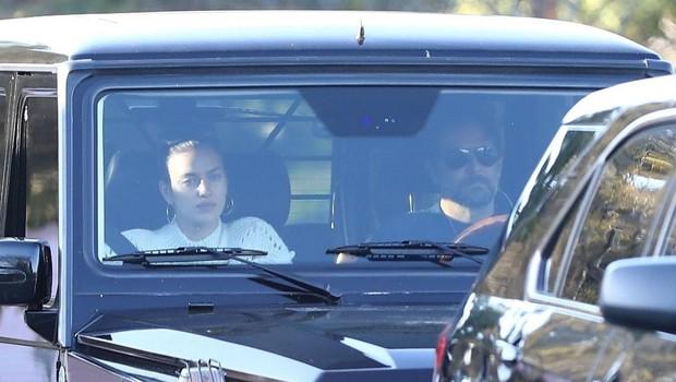 Bradley Cooper in Irina Shayk sta bila videti slabe volje, je za vse kriva Lady Gaga? (foto: Profimedia)