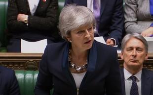Britanski poslanci potrdili premierkin predlog o možnosti preložitve brexita