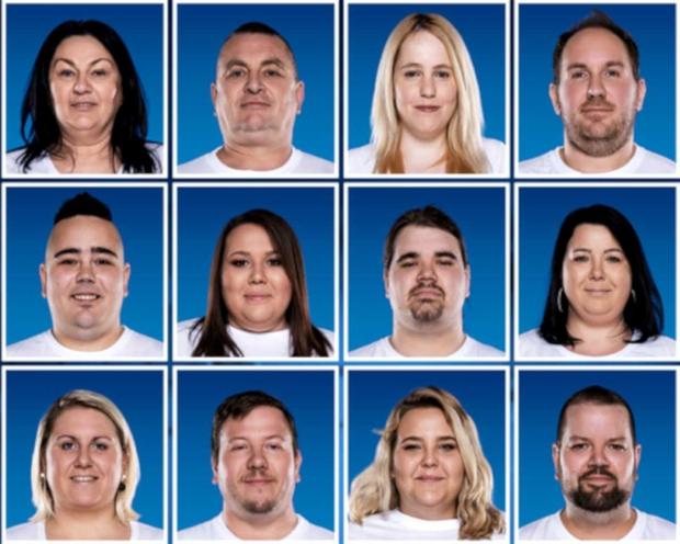 To so tekmovalci šova The Biggest Loser Slovenija 2019 (foto: Planet TV)