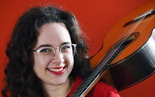 Finalistka Mladi upi 2018: Kitaristka Ana Gorjanc