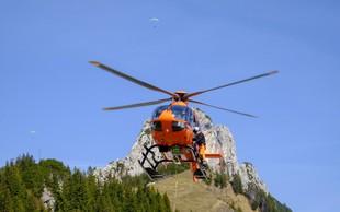 Policisti in gorski reševalci v Koritih Zadnjice našli mrtvega nemškega planinca