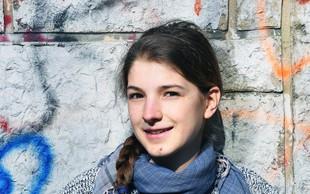 Finalistka Mladi upi 2018: Naravoslovka Ana Meta Dolinar