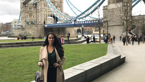 Tina se je predala vodenju in izvedela, da naj bi bil New York veliko bolj deževen od Londona. (foto: OSEBNI ARHIV)